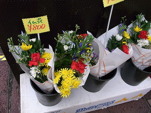 お彼岸 お花
