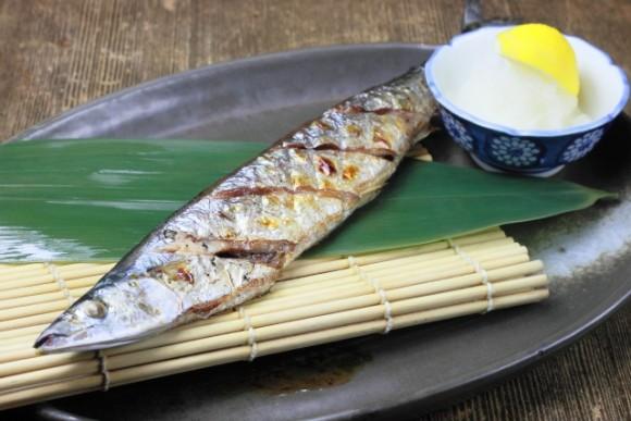 美味しそうな秋刀魚
