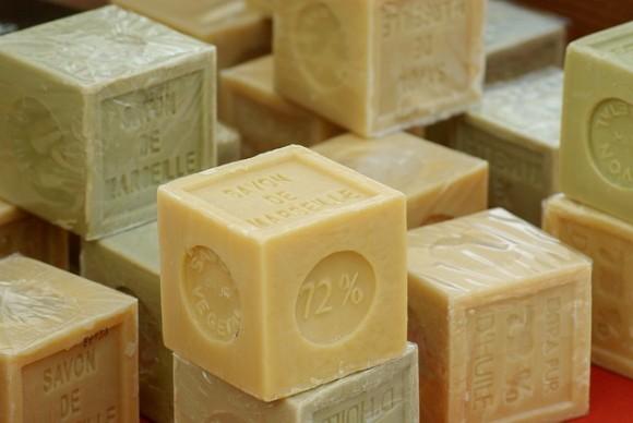 ブロック状の石鹸