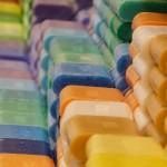 カラフルな石鹸
