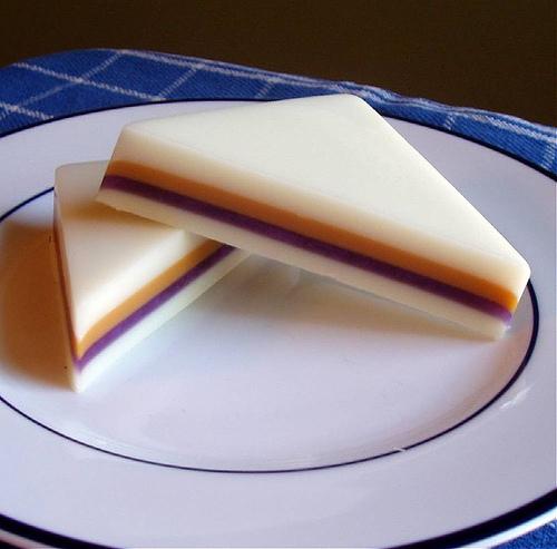 サンドイッチのような石鹸